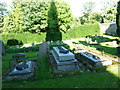 NZ0371 : Holy Trinity, Matfen, Graveyard by Alexander P Kapp