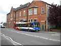 SK4374 : Bus on Market Street, Staveley by Richard Vince