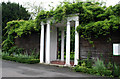 TQ3275 : Ruskin Park:  The Portico by Dr Neil Clifton