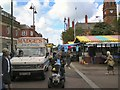 SJ9494 : Hyde Market July 2012 by Gerald England