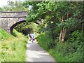SJ9493 : National Cycle Network Route 62 by Gerald England