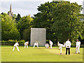 SK5183 : Evening cricket match at North Anston by Les Coe