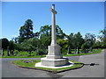 TQ3267 : War memorial in Queen's Road Cemetery by Ian Yarham