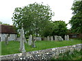 SU3146 : St Michael &amp; All Angels, Weyhill: churchyard (A) by Basher Eyre