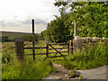 SD6619 : Witton Weavers Way, Path to Hollinshead Hall by David Dixon