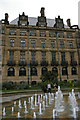 SK3587 : Sheffield Town Hall and the Peace Gardens fountains by Christopher Hilton