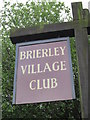 SE4110 : The Brierley Village Club, Brierley by Ian S