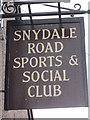 SE3808 : The Snydale Road Sports and Social club by Ian S