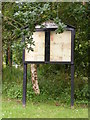 TM2999 : Brooke Village Notice Board by Adrian Cable