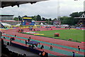 TQ3470 : Crystal Palace Athletics Stadium by Kev Williams