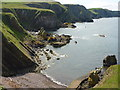 NT9069 : Coastal Berwickshire : Pettico Wick, near St. Abb's Head by Richard West