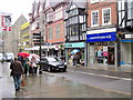 SJ4912 : Cancer Research UK Shop, Castle Street Shrewsbury by Roy Hughes
