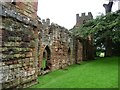 SJ5301 : South side, Acton Burnell Castle by Christine Johnstone
