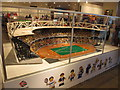 TQ3884 : Lego model of Olympic Stadium by David Hawgood
