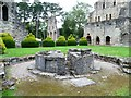 SJ6200 : 12th century lavatorium, Much Wenlock priory by Christine Johnstone