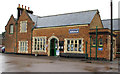 TF9913 : Dereham Station, main entrance by Roger Jones