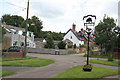 SK8272 : Village sign, North Clifton  by Alan Murray-Rust