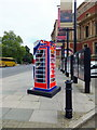 TQ2679 : BT ArtBox in Kensington Gore by PAUL FARMER
