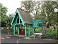 SD6502 : The lych gate at St Paul's, Westleigh by Ian S