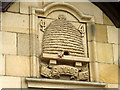 SD4760 : Beehive date stone on former Co-op, Greaves, Lancaster by Karl and Ali