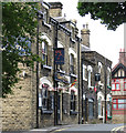 SE2918 : Horbury - west end of New Street by Dave Bevis