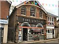 TQ5131 : Old Fire Station cafe, Crowborough by Paul Gillett