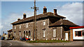 N0441 : Athlone GS&amp;WR station by Albert Bridge