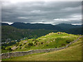 NY3104 : The ridge wall on Lingmoor Fell by Karl and Ali