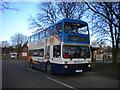 SP9442 : Bus at Cranfield University by Richard Vince