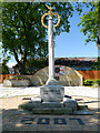 SD8901 : War Memorial and Memorial Garden, Failsworth by David Dixon