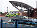 NZ3470 : Ambulance on station at North Tyneside General Hospital by David Clark