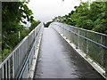 W7270 : Cycle track bridge over N25 South Ring Road, Cork by David Hawgood