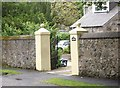 NJ6201 : Gateposts by Stanley Howe