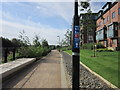 SE3132 : A path alongside the River Aire, Leeds by Ian S