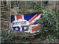 SX8353 : 'Motor BP' enamel sign, Capton by Robin Stott
