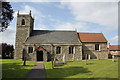 SK8466 : All Saints Church, North Scarle  by Alan Murray-Rust