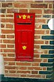 TF9913 : Victorian postbox by James Yardley