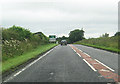 NY3964 : A7 approaching Westlinton from the south by John Firth