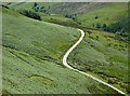 SN7453 : Former drovers' road in Cwm Doethie Fawr, Ceredigion : Week 30