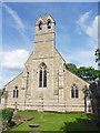 TL1887 : St Giles, Holme by Ben