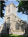 TL1586 : St Nicholas, Glatton by Ben