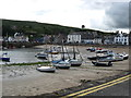 NO8785 : Stonehaven Harbour at low tide by jim and liz denham