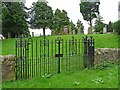 NT6725 : Graveyard at Nisbet by Oliver Dixon