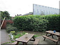 SD9002 : The beer garden at the Spinners Arms by Ian S