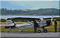 NM9035 : Vintage Auster at Oban Airport by The Carlisle Kid