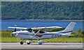 NM9035 : Cesna at Oban Airport by TheTurfBurner