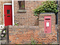 SK8261 : Collingham South End postbox (ref. NG23 33)  by Alan Murray-Rust