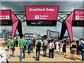 TQ3884 : Stratford Gate, Olympic Park by Graham Hogg