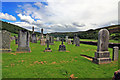 NJ2808 : Cemetery near Burnside by Alan Findlay