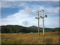 NH2901 : Electricity pylon, Invergarry by Karl and Ali
